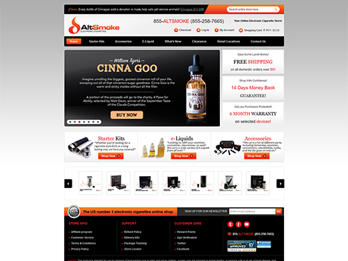 Your Online Electronic Cigarette Store – AltSmoke -magento-1